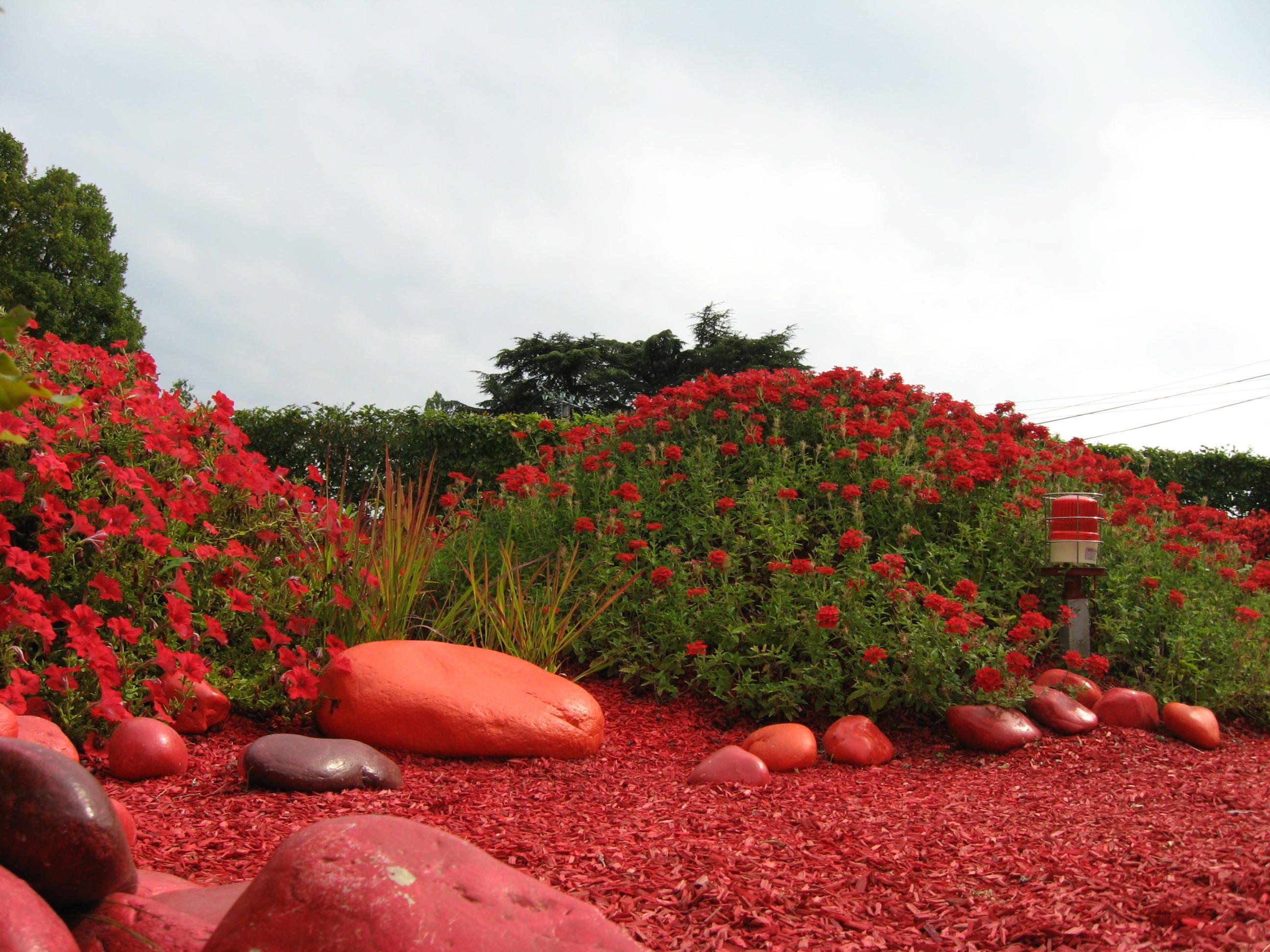 Jardin Rouge Chaumont